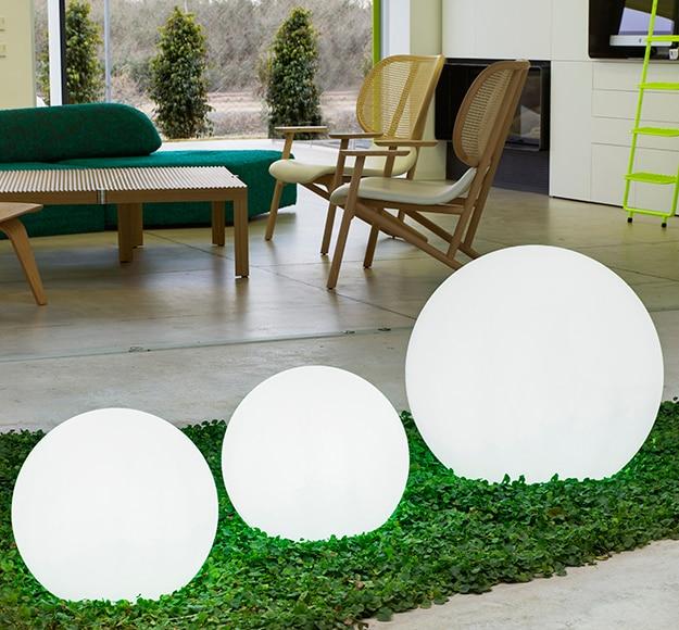 Bola decorativa newgarden buly 40 cm ref 15155686 leroy - Luces solares leroy merlin ...