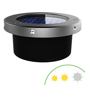 Pack 2 focos solares Xanlite LED