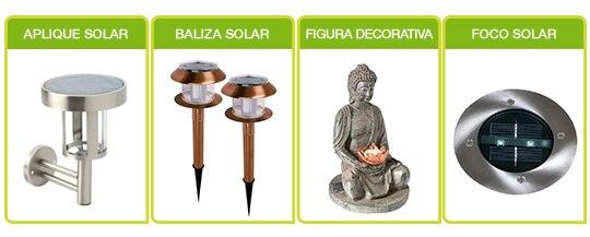Soluciones solares leroy merlin Aplique solar exterior