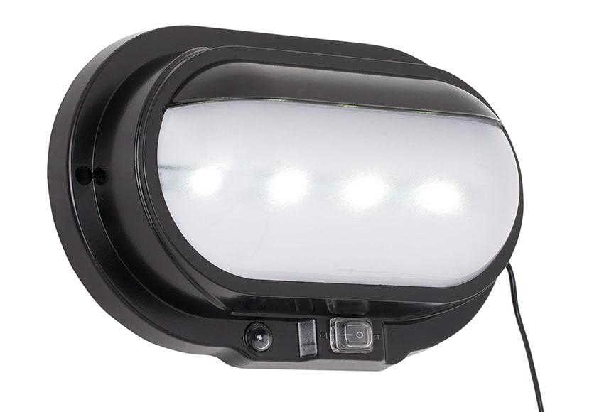 Aplique solar led inspire caracas ref 14921473 leroy merlin for Aplique exterior solar led
