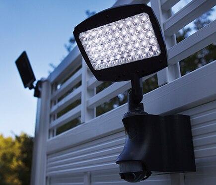 Aplique solar led inspire caraibes ref 14955276 leroy - Aplique solar exterior ...