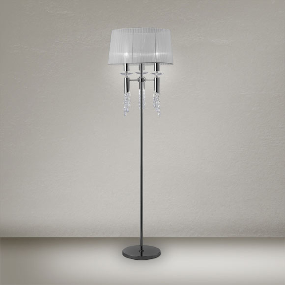 L mpara de pie tiffany ref 17436181 leroy merlin - Leroy lamparas de pie ...