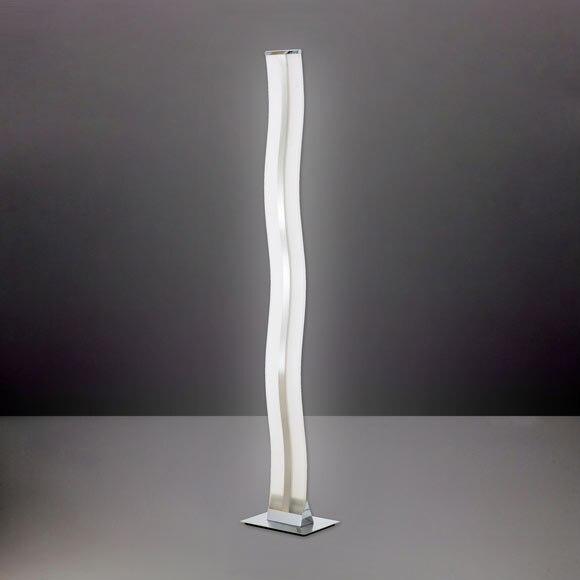 L mpara de pie led louvre ref 17753372 leroy merlin - Leroy lamparas de pie ...