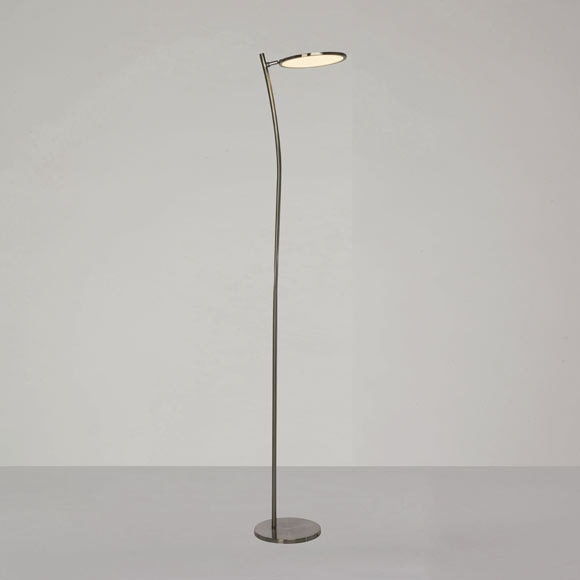 L mpara de pie led pluto ref 81865535 leroy merlin - Leroy lamparas de pie ...