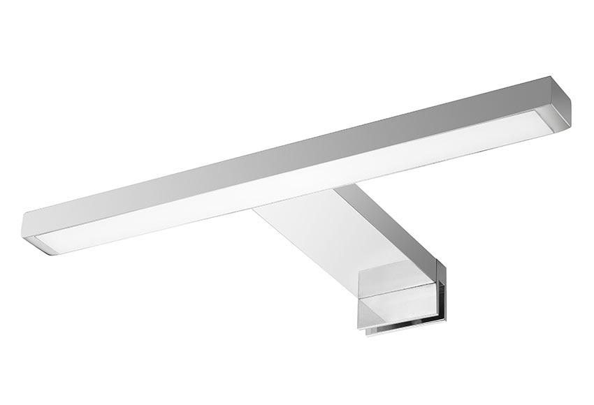 Aplique de ba o flat led cromo ref 16505083 leroy merlin for Apliques de led para escaleras