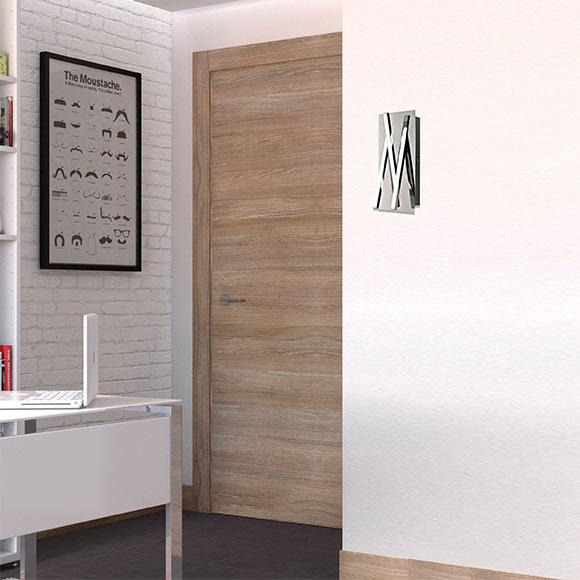 Aplique 3 luces blanco y cromo inspire otok ref 19072606 - Apliques pared leroy merlin ...