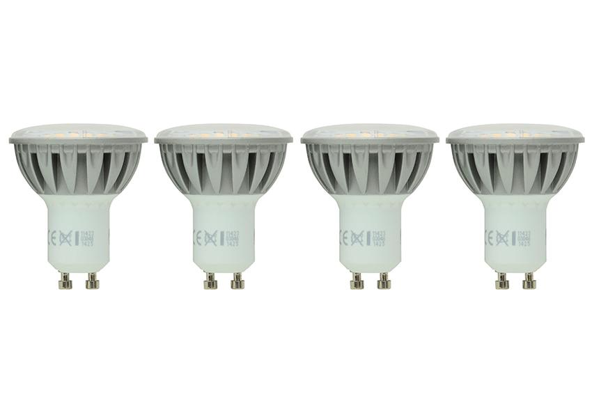Barra de 4 luces serie davida cromo ref 16771265 leroy - Luces solares leroy merlin ...