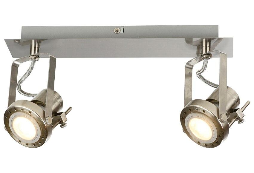 Barra de 2 luces inspire serie technic cromo ref 15521744 - Luces solares leroy merlin ...