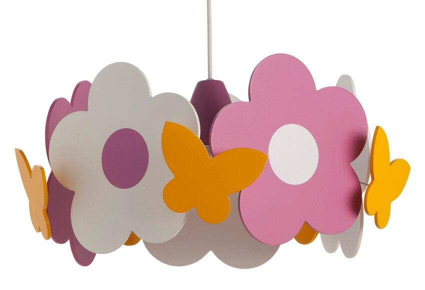 L mpara de techo madera rosas philips ref 13662222 - Lampara habitacion infantil ...