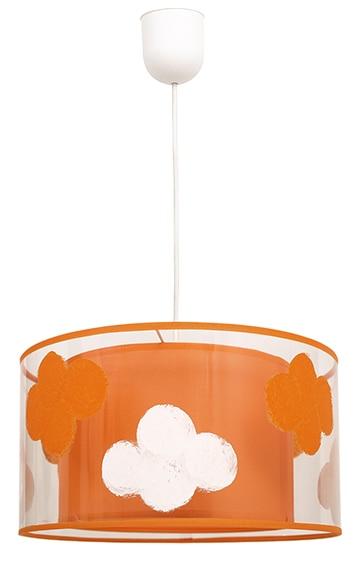 L mpara de techo nube naranja ref 15930355 leroy merlin - Lamparas infantiles leroy merlin ...