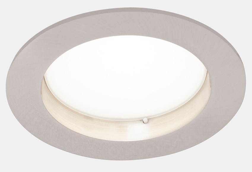 Foco empotrable downlight led inspire ref 16583126 for Focos led exterior leroy merlin