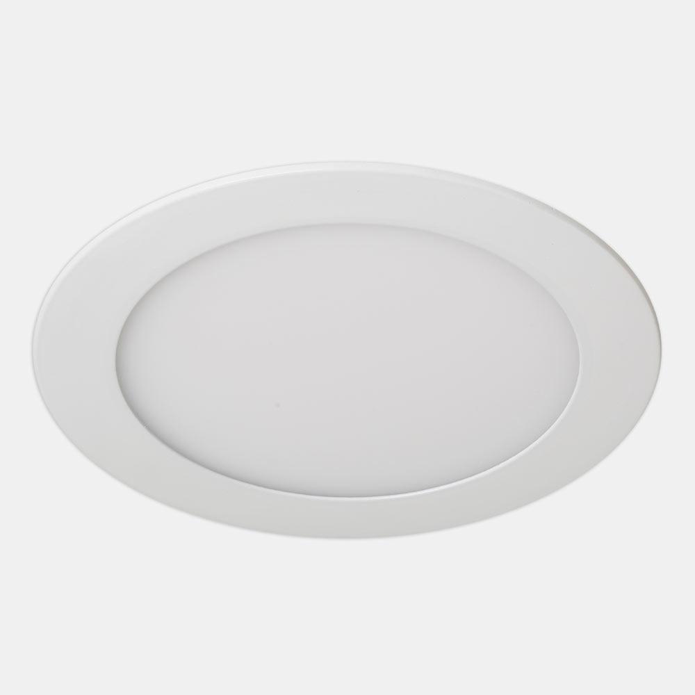 Foco led fast redondo blanco ref 17463691 leroy merlin for Focos led exterior leroy merlin