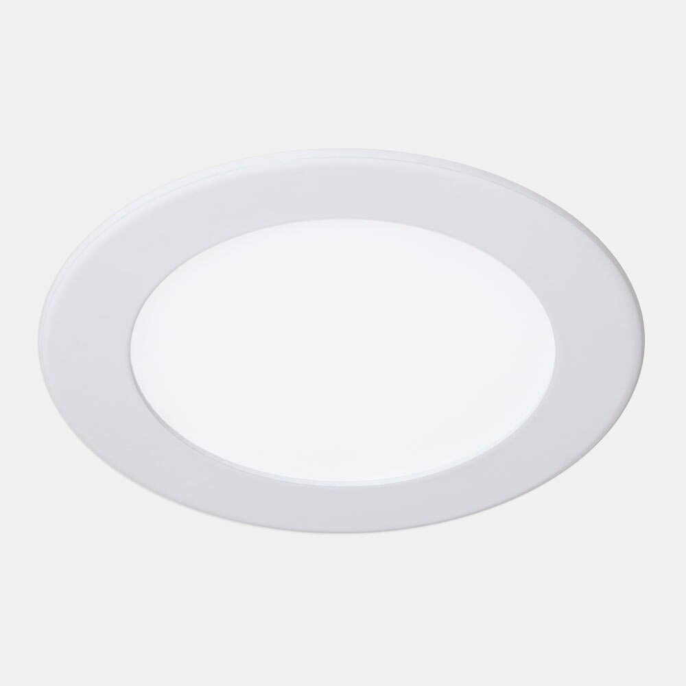 Foco led fast redondo blanco ref 17463712 leroy merlin for Focos led exterior leroy merlin