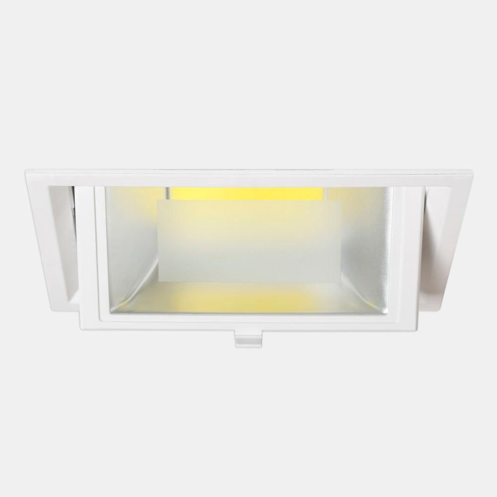Foco led perk rectangular blanco ref 17463544 leroy merlin - Focos led exterior leroy merlin ...