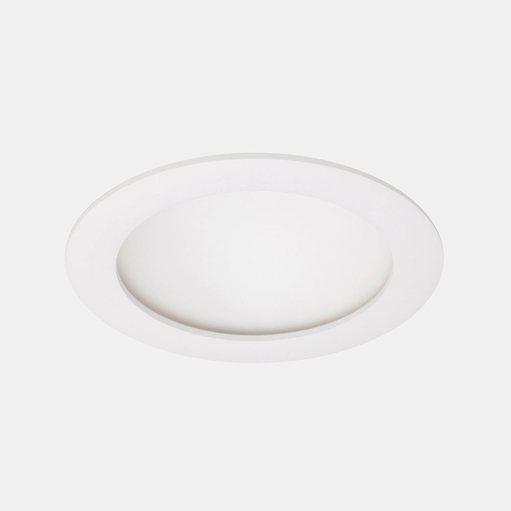 Foco downlight serie b veda redondo blanco ref 17471475 - Downlight leroy merlin ...