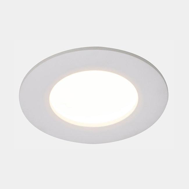 Foco downlight serie b veda redondo blanco ref 17471482 - Downlight leroy merlin ...