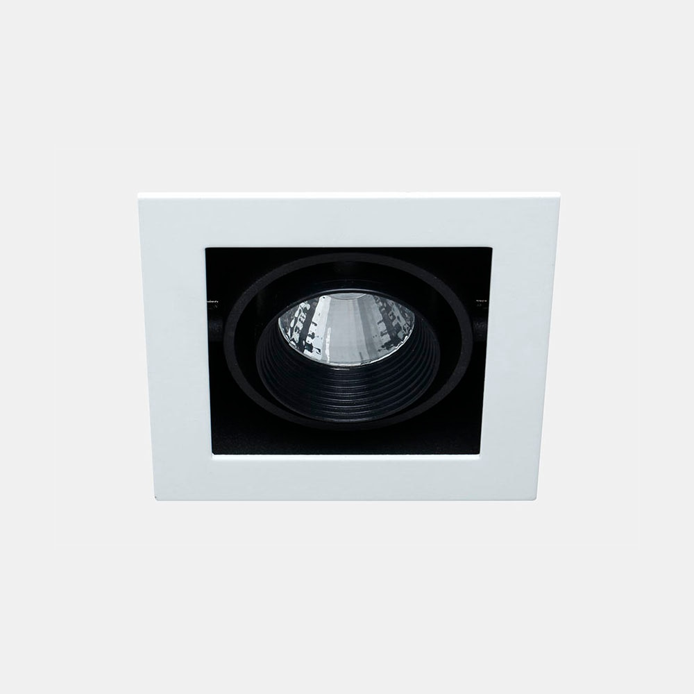 Foco inspire serie chris cuadrado negro ref 17334142 - Focos piscina leroy merlin ...
