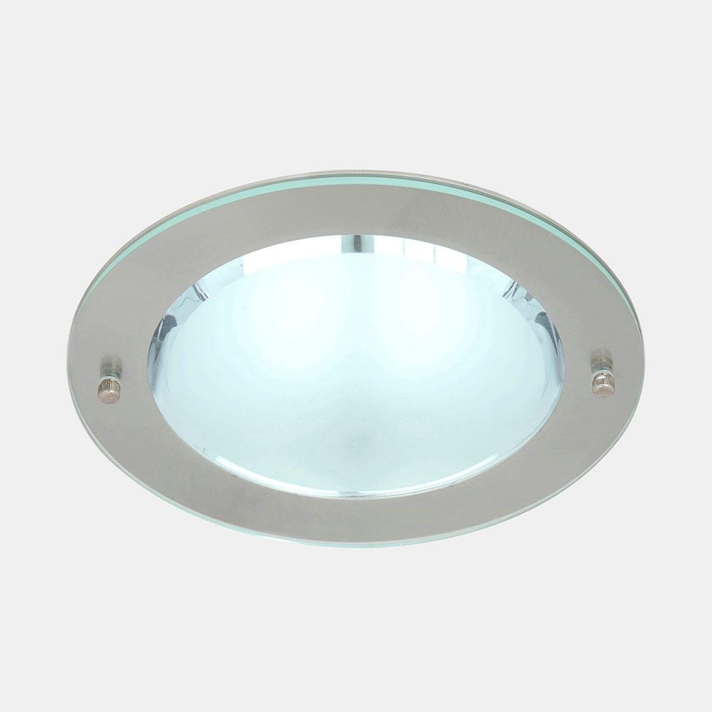 Foco downlight serie juno redondo cromo ref 15158535 - Downlight leroy merlin ...