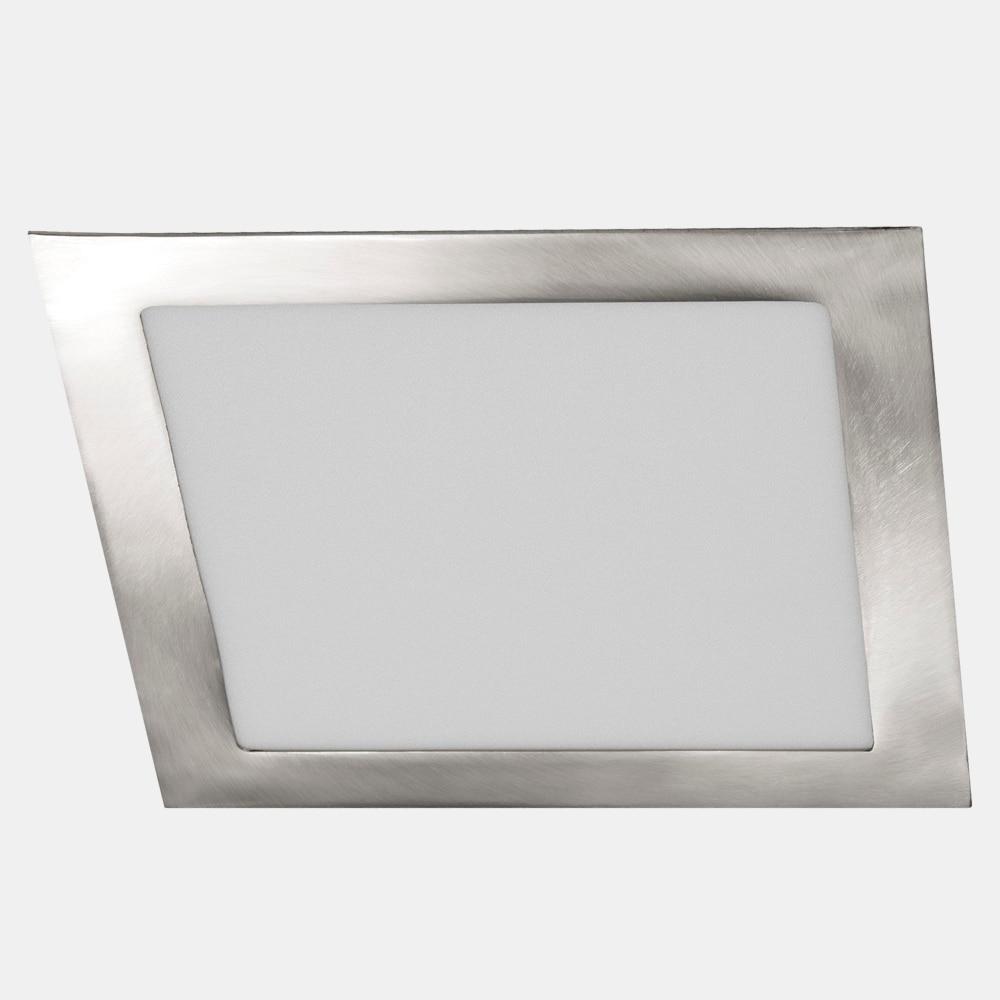 Foco downlight serie led cuadrado n quel ref 18784752 - Focos led exterior leroy merlin ...