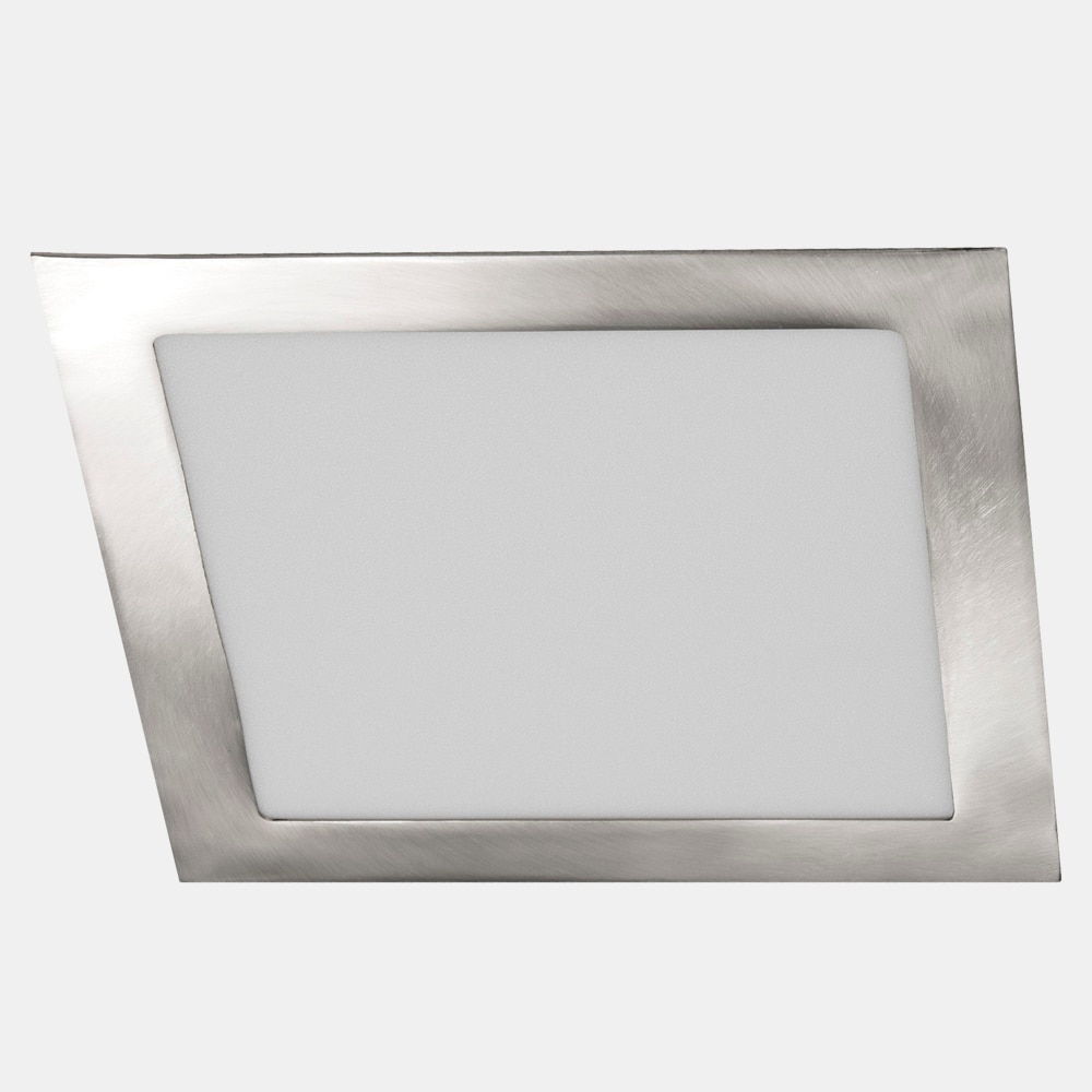 Foco downlight serie led cuadrado n quel ref 18784752 for Focos led exterior leroy merlin