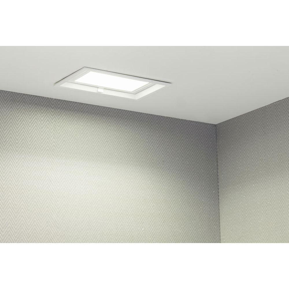 Foco serie rectangular blanco ref 17463544 leroy merlin - Focos led exterior leroy merlin ...