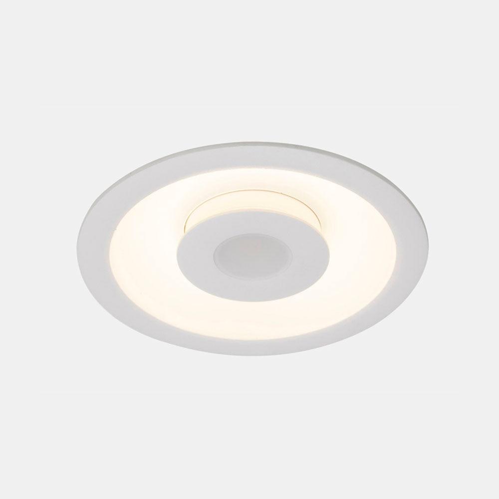 Foco downlight serie trois redondo blanco ref 17471321 for Downlight leroy merlin