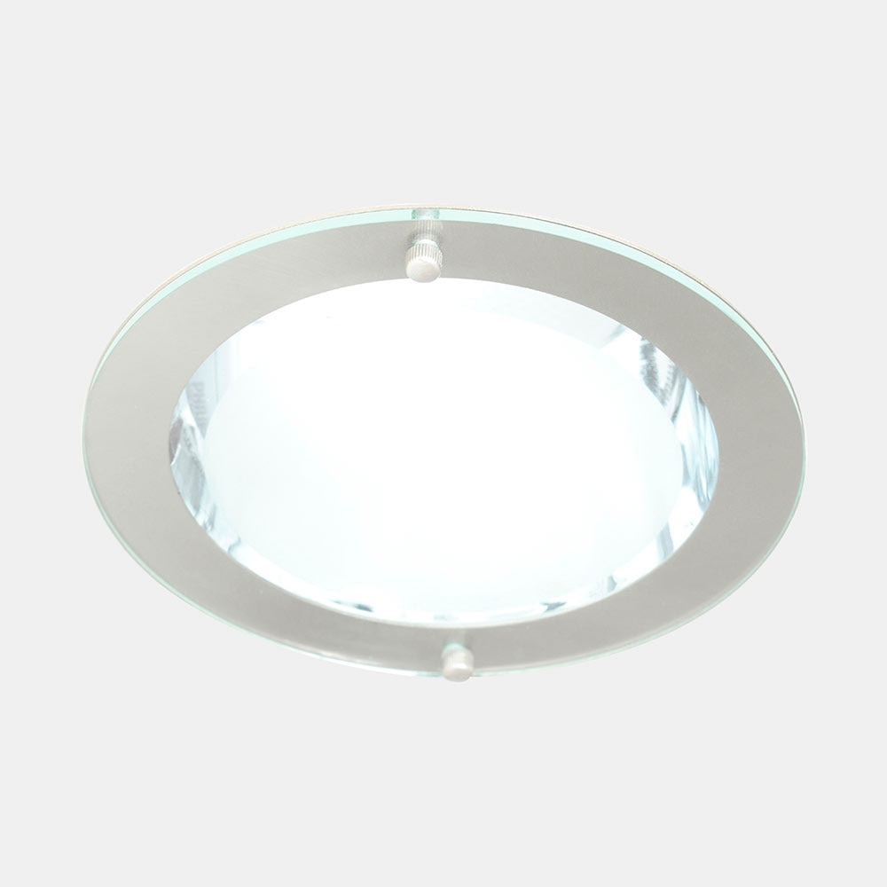 Foco downlight serie volc n redondo cromo ref 15158521 - Downlight leroy merlin ...