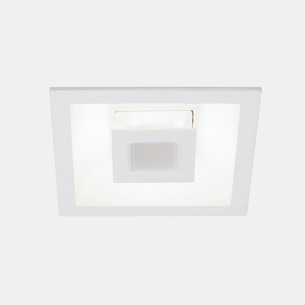 Foco led trois cuadrado blanco ref 17471426 leroy merlin - Focos led exterior leroy merlin ...
