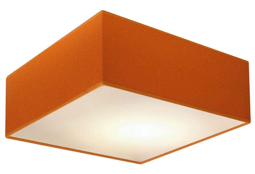 Plaf n 2 luces pantalla naranja ref 15634220 leroy merlin - Luces solares leroy merlin ...