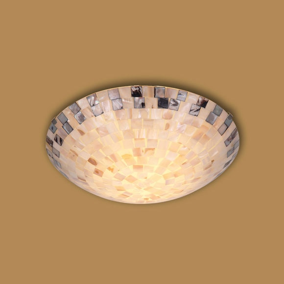 Plaf n 2 luces mosaico redondo ref 16505356 leroy merlin - Mosaico leroy merlin ...