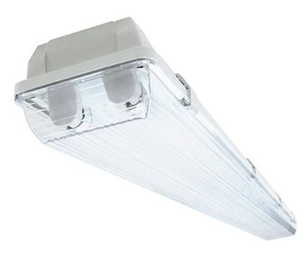 Lámpara fluorescente Estanca blanca