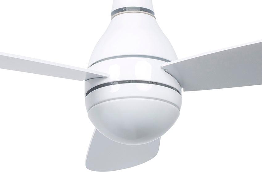 Ventilador de techo con luz inspire mahina ref 16091061 for Leroy merlin ventiladores