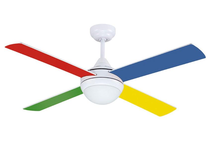 Ventilador de techo con luz sulion naif ref 16971745 - Lampara ventilador leroy merlin ...