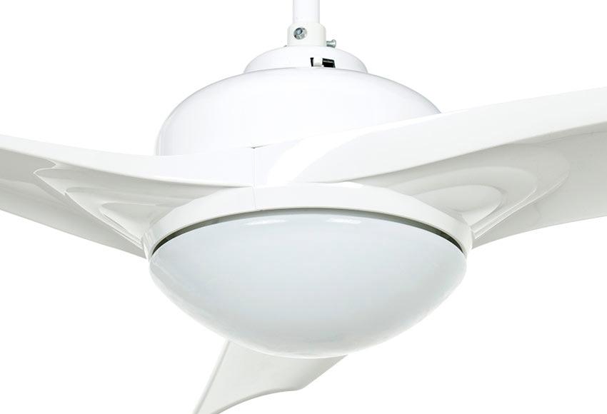Ventilador de techo con luz inspire aruba ref 17356080 - Leroy merlin murcia ventiladores de techo ...