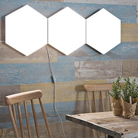 Panel LED Inspire Puzzle Hexagonal 9