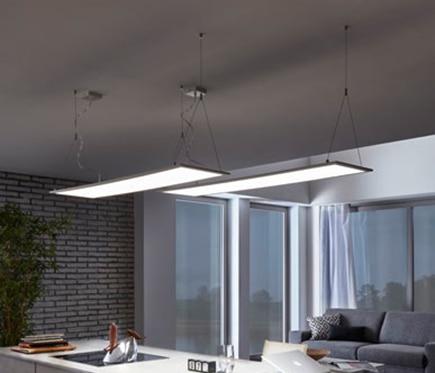 Panel led inteligente eglo connect rectangular 34w ref for Profilo alluminio led leroy merlin