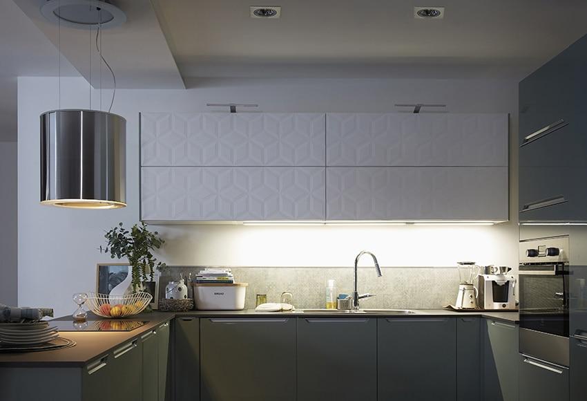 Regleta led inspire kit rio plana 6w ref 17707270 leroy merlin - Eclairage led cuisine leroy merlin ...