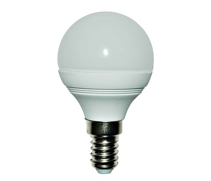 Lexman Bombilla led Led esférica E14 luz blanca 10000 h