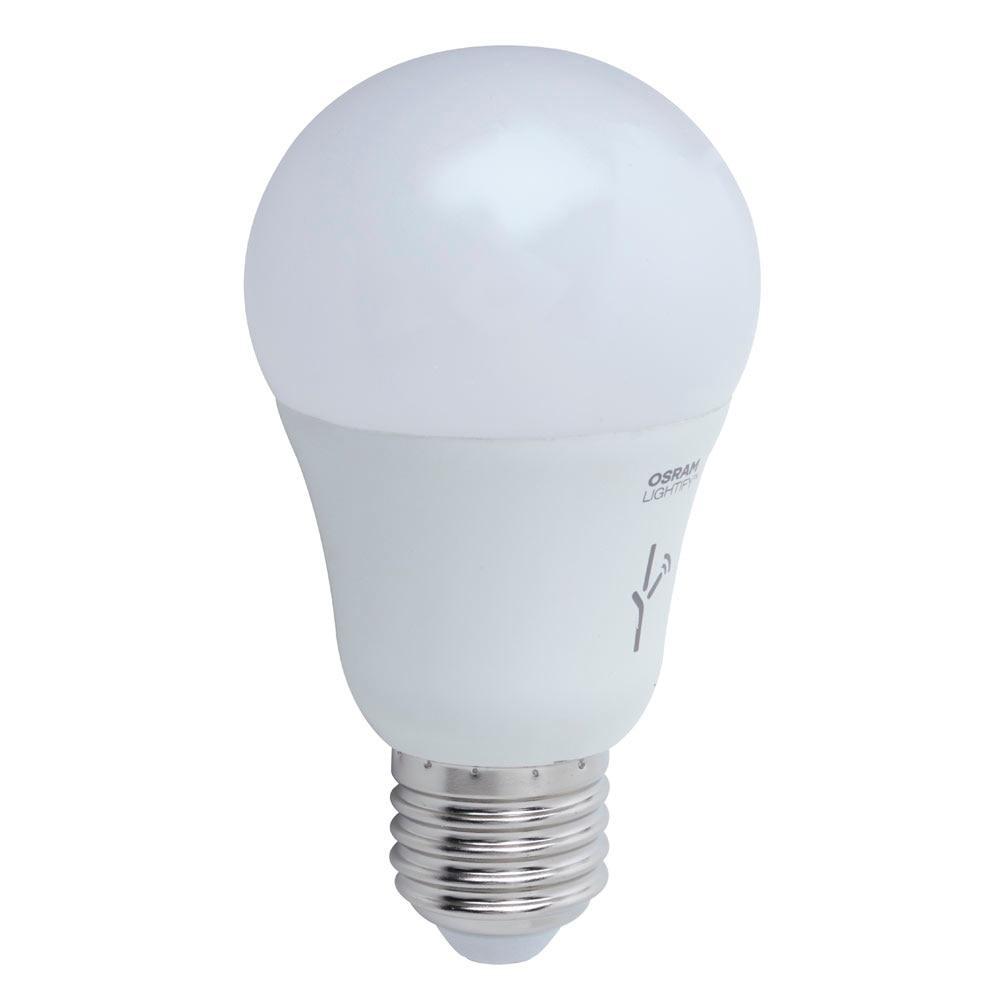 bombilla led inteligente lightify e27 regulable rgb osram ref 17593135 leroy merlin. Black Bedroom Furniture Sets. Home Design Ideas