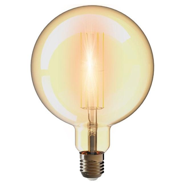 Bombilla led globo filamento gold ref 19468071 leroy merlin for Bombillas led leroy