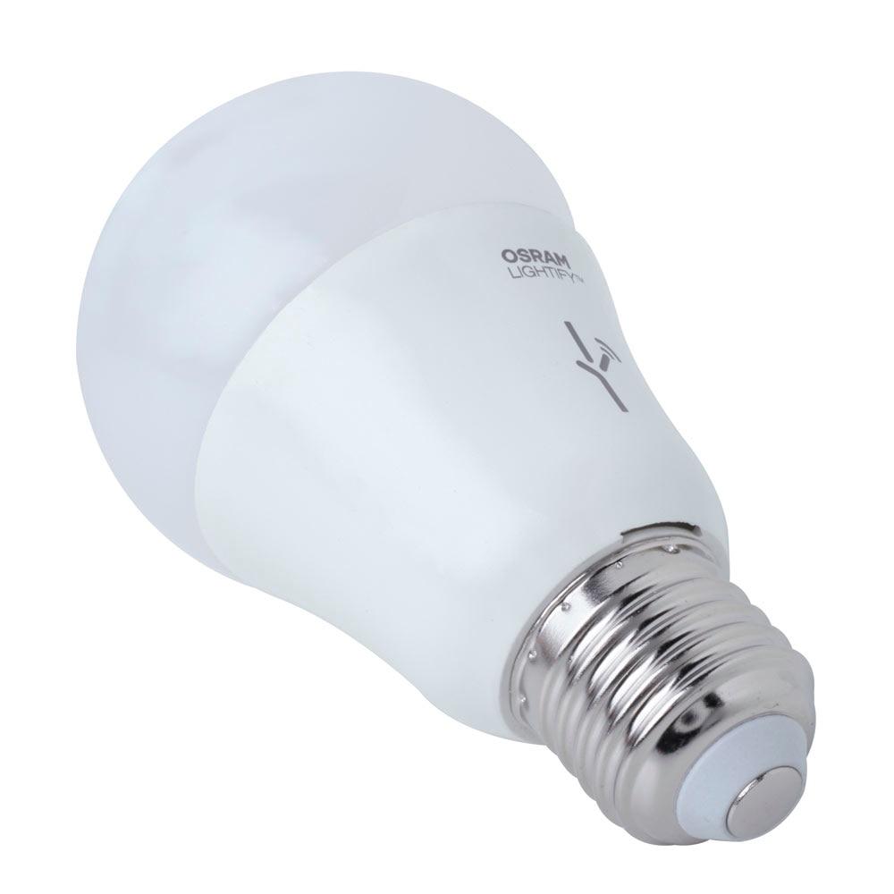 Bombilla led inteligente lightify e27 regulable osram ref for Bombillas led leroy