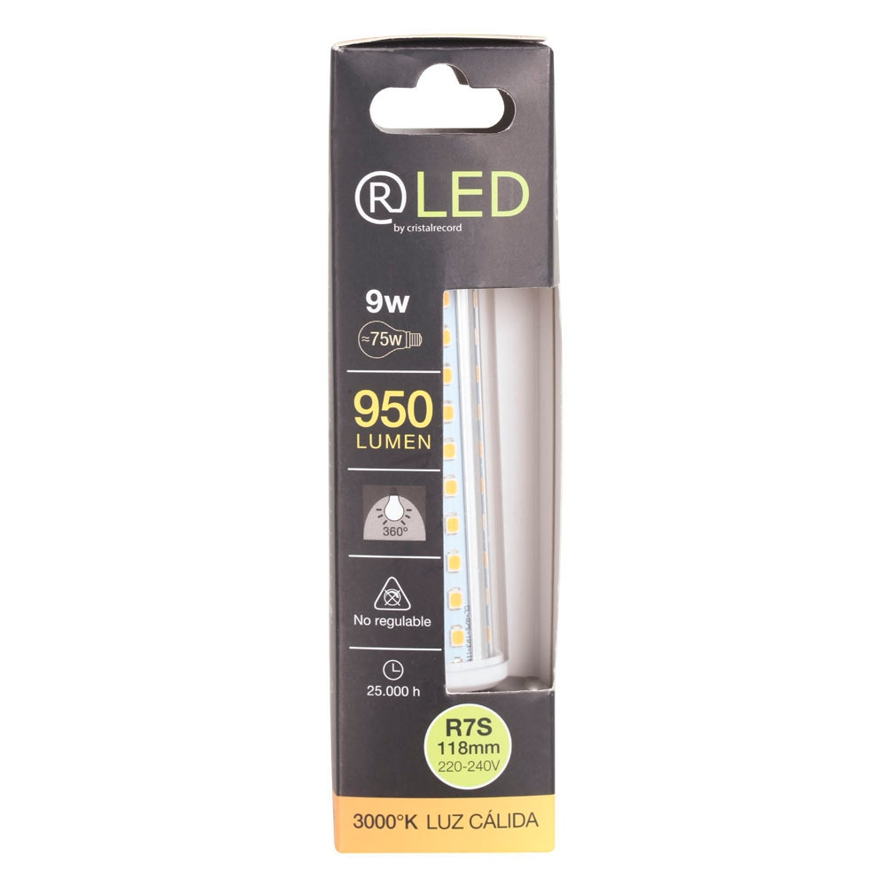 Bombilla led r7s cristalrecord ref 18571686 leroy merlin for R7s led 78mm leroy merlin