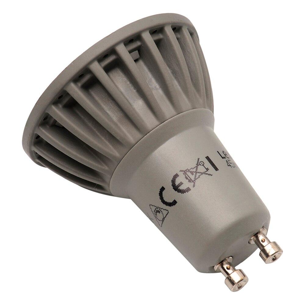 Bombilla lexman led reflectora regulable gu10 ref for Bombillas led g9 leroy merlin