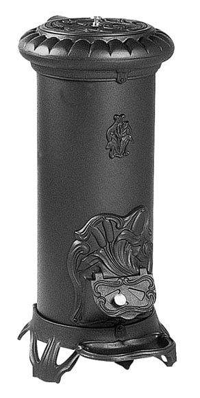 Estufa de hierro fundido sologne ref 11385535 leroy merlin for Estufa hierro fundido