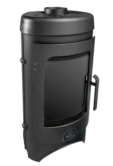 Estufa de hierro fundido invicta taore ref 15966076 - Estufas electricas bajo consumo leroy merlin ...