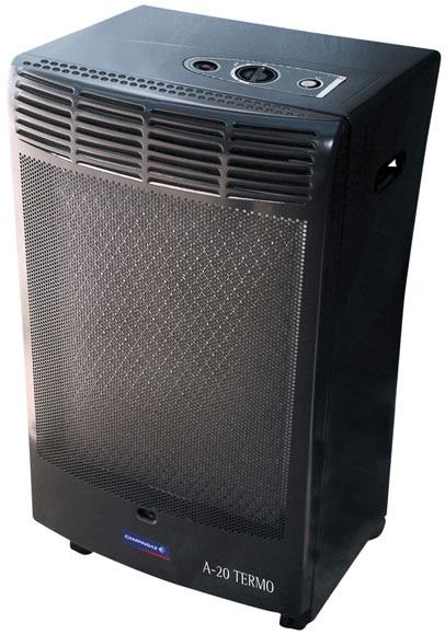 Estufa de gas termost tica camping gaz athena 20 tt ref - Estufas electricas bajo consumo leroy merlin ...