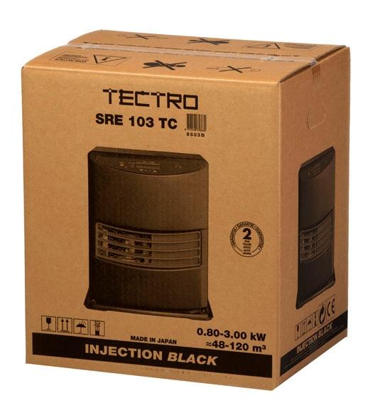 estufa de parafina electr nica tectro injection sre 103 ref 14895356 leroy merlin. Black Bedroom Furniture Sets. Home Design Ideas