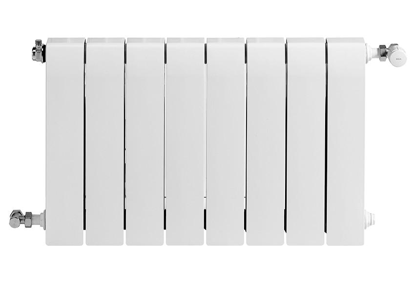 Radiador de aluminio de 8 elementos roca dubal 45 ref - Radiadores de aluminio ...