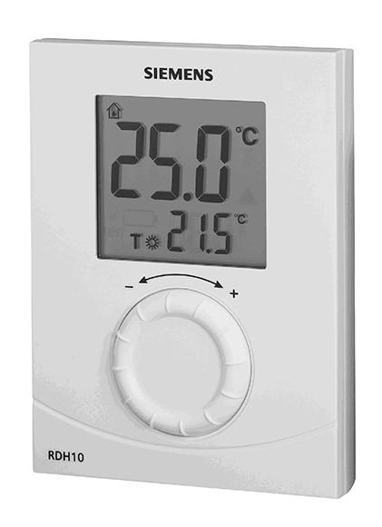 termostato siemens rdh10 ref 13978594 leroy merlin