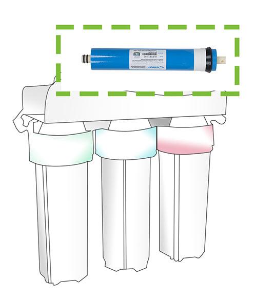 Membrana equipos de smosis smosis inversa 50 gpd ref - Leroy merlin osmosis ...